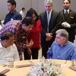 TAHPI CEO Aladin Niazmand and Ratan Tata