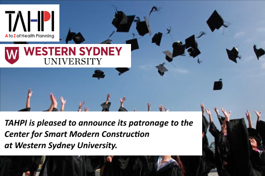 TAHPI Western Sydney University Patronage