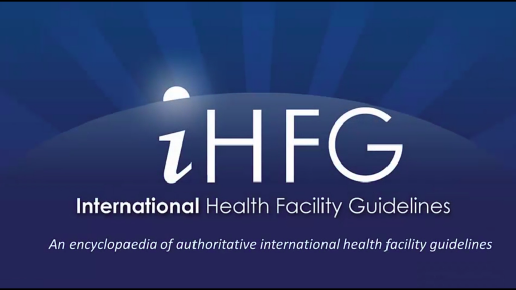 iHFG - international health facility guidelines