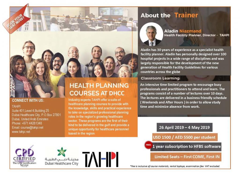 TAHPI Training Course
