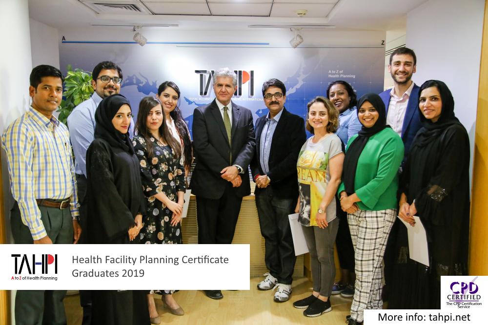 TAHPI Health Planning Certificate Graduates 2019