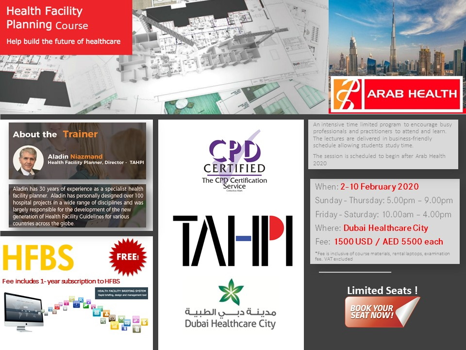 TAHPI - Health Facility Planning Course - 2 February - 10 February 2020