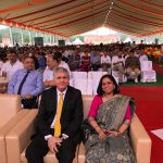 TAHPI CEO Aladin Niazmand and regional director Vineetha Menon
